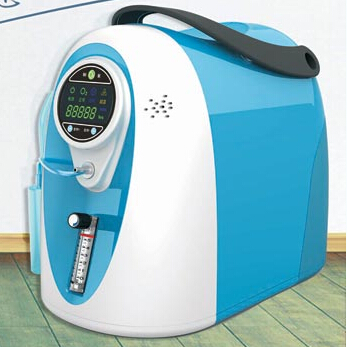 Kyslíkový koncentrátor, dýchací přístroj LOVEGO LG301 - 5L, 90%
