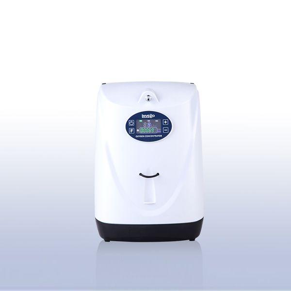 Přenosný kyslíkový koncentrátor s dvěma bateriemi a vozíkem LOVEGO LG102P - 90%