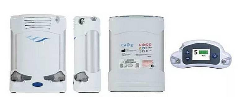 Kyslíkový koncentrátor CAIRE FreeStyle Comfort - 8-článková baterie