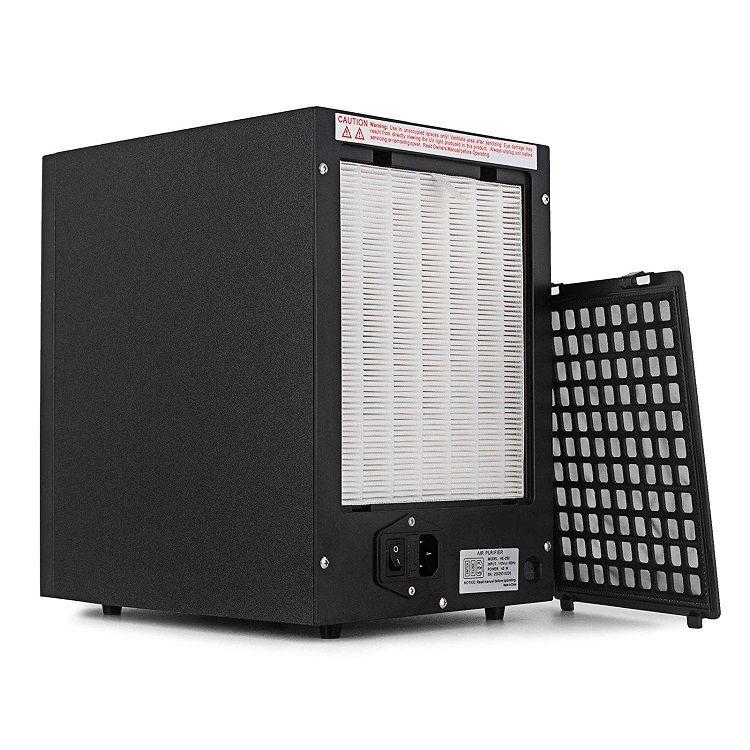 Čistička vzduchu s UV lampou, ionizátorem a ozónem HE-250